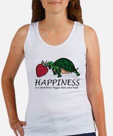 Happiness is (Strawberry) Women's Tank Top