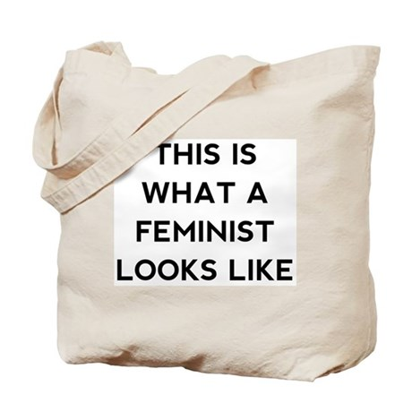 What a feminist looks like Tote Bag