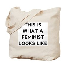 What a feminist looks like Tote Bag