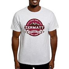 Zermatt Raspberry T-Shirt