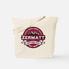 Zermatt Raspberry Tote Bag