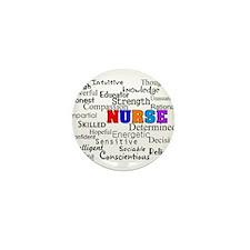 Nurse Mini Button (10 pack)