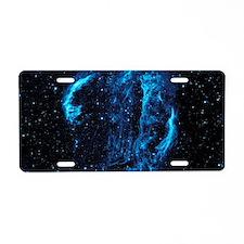 Unique Stargazing Aluminum License Plate