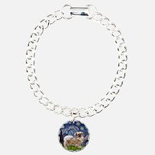 Starry / Tibetan Spaniel Bracelet