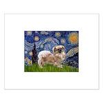 Starry / Tibetan Spaniel Small Poster