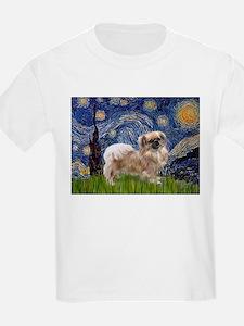 Starry / Tibetan Spaniel T-Shirt