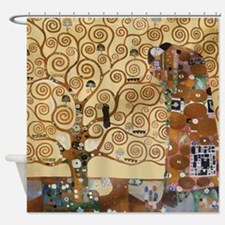 Gustav Klimt Tree Of Life Shower Curtain