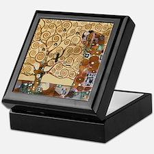 Gustav Klimt Tree Of Life Keepsake Box