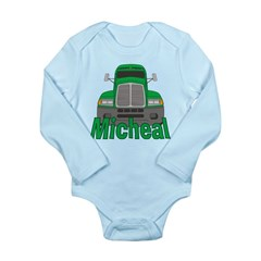 Trucker Micheal Long Sleeve Infant Bodysuit