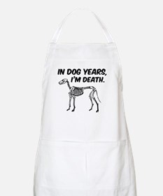 In Dog Years I'm Death Apron