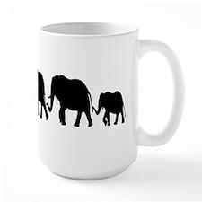 Elephant Train Mug