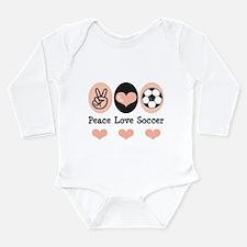 SoccerPeaceLove Body Suit