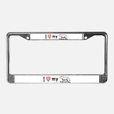 I LOVE my EMD License Plate Frame