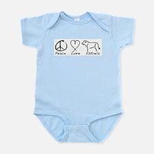 Peace Love Estrela Infant Bodysuit