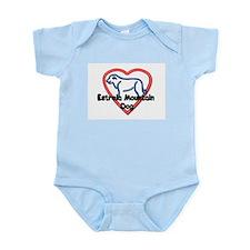 Heart Estrela Infant Bodysuit