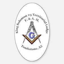King Solomon #5 Territorial Lodge Decal