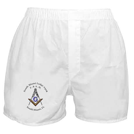 South Miami Lodge #308 Boxer Shorts