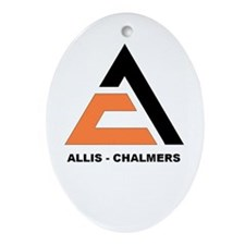 """""""ALLIS-CHALMERS"""" Oval Ornament"""