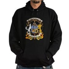 Kaniac Crest English Motto Hoodie