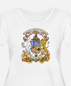 Kaniac Crest English Motto T-Shirt