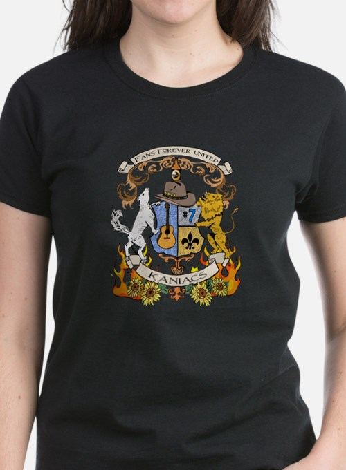 Kaniac Crest English Motto Tee