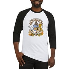 Kaniac Crest English Motto Baseball Jersey