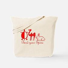 Mynagirl Yoga Tote Bag