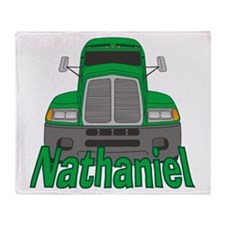 Trucker Nathaniel Throw Blanket