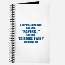 A cop pulled me over ... Journal