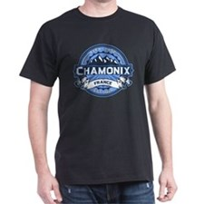 Chamonix Blue T-Shirt