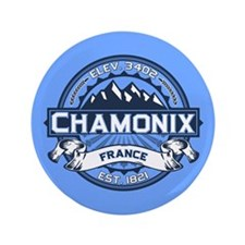 "Chamonix Blue 3.5"" Button"