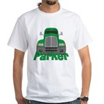 Trucker Parker White T-Shirt