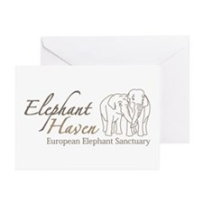 Unique Elephant Greeting Cards (Pk of 10)