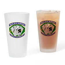 Wildcards Drinking Glass