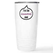 I'm the witty one! Travel Mug
