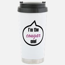 I'm the cougar one! Travel Mug