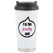 I'm the pretty one! Travel Mug