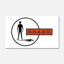 S.H.A.D.O. Car Magnet 20 x 12