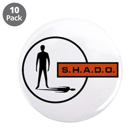 "S.H.A.D.O. 3.5"" Button (10 pack)"