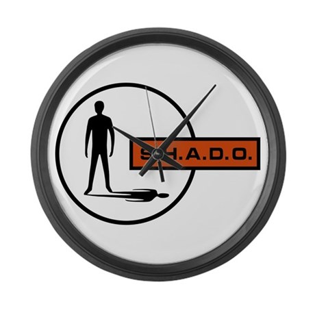 S.H.A.D.O. Large Wall Clock