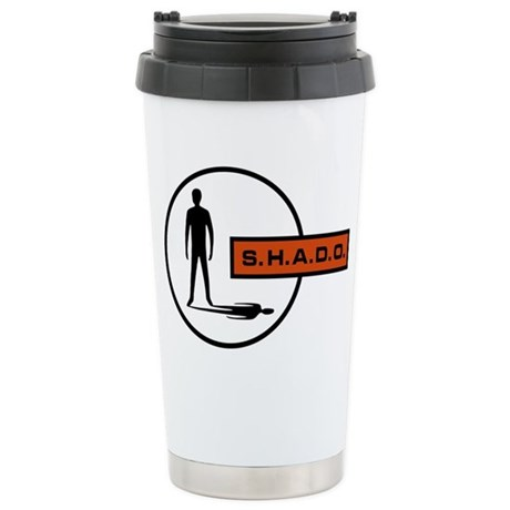 S.H.A.D.O. Stainless Steel Travel Mug