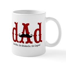 Mustache Dad Small Mug