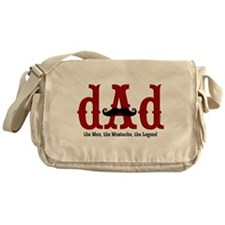 Mustache Dad Messenger Bag