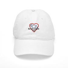 Estrela Mountain Dog Love Baseball Cap