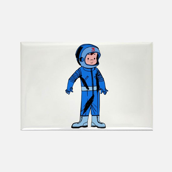 Astronaut Rectangle Magnet