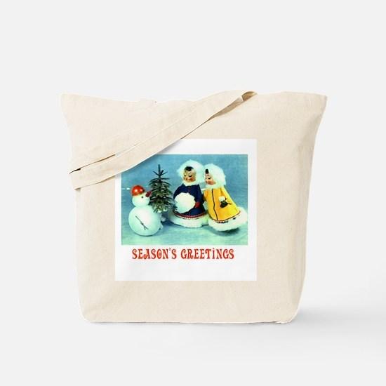 Kitschy Greetings - Season's Greetings Tote Bag