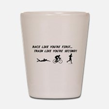 Race like you're first Shot Glass