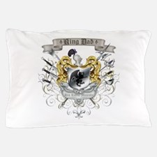Royal Crest King Dad Pillow Case