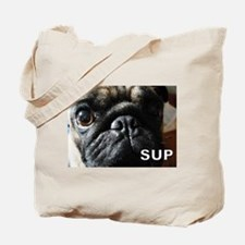 Cute Pug Tote Bag
