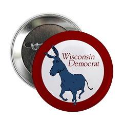 Wisconsin Democrat activist button